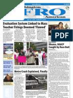 Washington D.C. Afro-American Newspaper, July 31, 2010