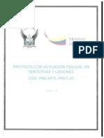 Protocolo de Tentativa y Lesiones