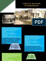 Licencia de Edificación-Vía Regularización