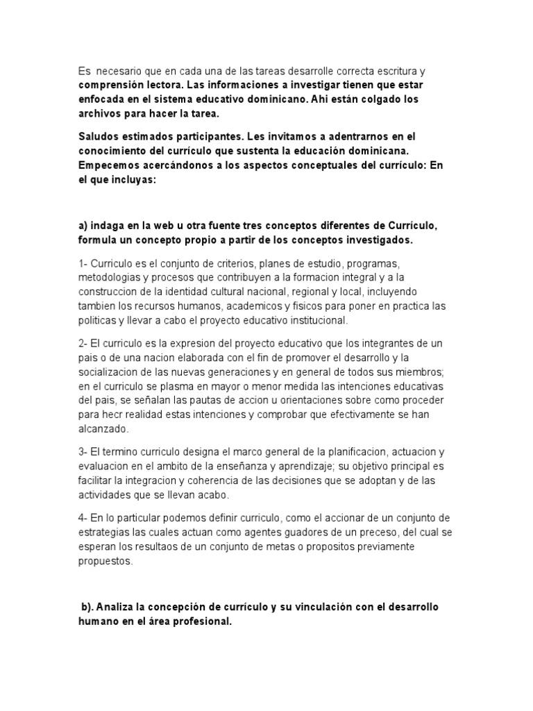 Moderno Plantilla De Desarrollo Curricular Colección de Imágenes ...