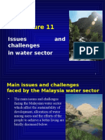 Lecture 11 Water Issues n Challenges