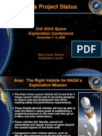 NASA 164292main 2nd exp conf 27 ConstellationElements AresProjectStatus SCooke