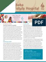 March 2009 Hamlin Fistula Aid Fund Newsletter