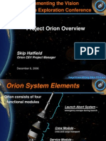 NASA 164293main 2nd exp conf 28 ConstellationElements ProjectOrionOverview SHatfield