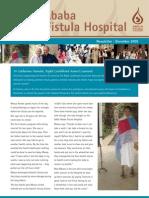 December 2009 Hamlin Fistula Aid Fund Newsletter