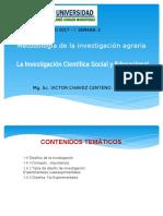 Clase2- Invesgaciòn Social y Diseños