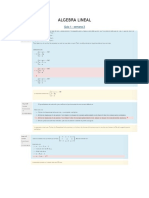 parcial Álgebra Lineal