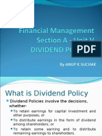 1 Dividend Policies