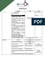 Agenda Mue 2017