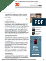 Ranking Del Buen Gobierno_ Las 10 Políticas Públicas Que Mejoraron Ciudades Argentinas _ Conexión Brando