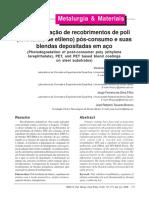 Artigo Sobre Degradação Termo Oxidativa Do PET