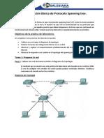 1.- Configuracion Básica de Una Spanning Tree - Estudiante