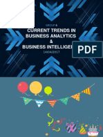 trends in business analytics ppt