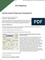 Belajar PageMaker 7.0 _ Conans MAN 1 Kota Magelang