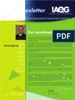 IAQG E-Newsletter Issue1 April 2011