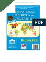 UNESCO International Handbook of Universities 2018 Pre-release