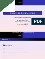 O Limite de Chandrasekhar
