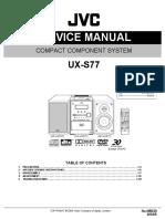 Jvc Audio Ux-s77