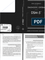 Personality Disorders DSM
