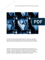 Explorarea Imagistică Prin Rezonanță Magentică (IRM