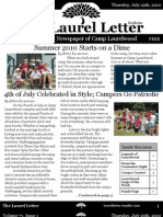 The Laurel Letter Issue 1