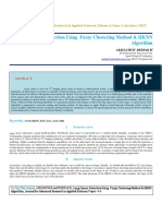 IAETSD-JARAS-Lung Cancer Detection Using Fuzzy Clustering Method & HKNN Algorithm