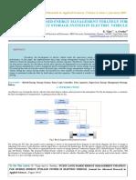 Iaetsd-jaras-fuzzy Logic Based Energy Management Strategy for Hybrid Energy Storage System in Electric Vehicle