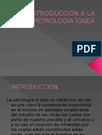 Introduccion a La Petrologia Ignea