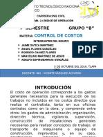 Exp 2.4 Control de Costos