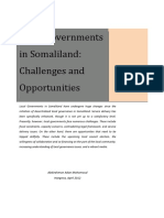 1204-10 Local Governments in Somaliland- Challenges and Opportunities