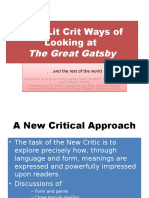 Nine Lit Crit Ways of Looking at 1 1