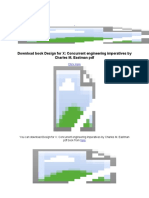 Design for X_ Concurrent Engineering Imperatives by Charles M - Google Docs