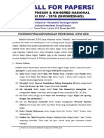 Pedoman Penulisan Technical Paper IATMI 2016