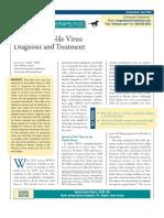 West Nile Virus (Compendium TX n Dx)