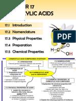 7. CARBOXYLIC ACIDS Nomenclature Student