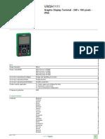 Altivar Machine ATV320_VW3A1111