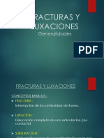 Clase 9 Huesos - Fracturas - Luxaciones