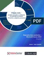 (2) Priručnik MS Access 2010