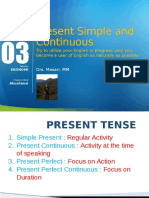 Module 3_Present Simple and Continuous