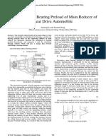 Bearing Preload of Main Reducer of Rear Drive.pdf