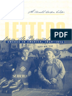 Letters From the Promised Land (1840-1914) Swedes in America (373p) [Inua]