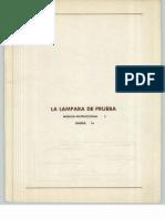 Vol. 16 La Lámpara de Prueba Módulo Instruccional 5 Unidad 16