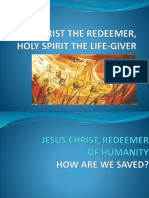 Christ The Redeemer, Holy Spirit The Life-Giver