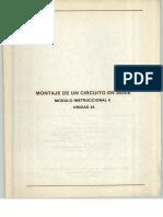 Vol. 24 Montaje de un Circuito en Serie Módulo Instruccional 6 Unidad 24.