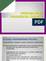 Rehabilitasi Penderita Stroke