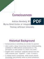 60. Consciousness