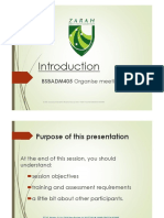 BSBADM405 - Presentation