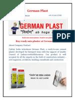 German Plast PDF File