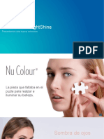 Nu Colour LightShine Launches.product Presentation.es