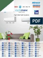Sales Catalogue_Optimax Heat Pump_English